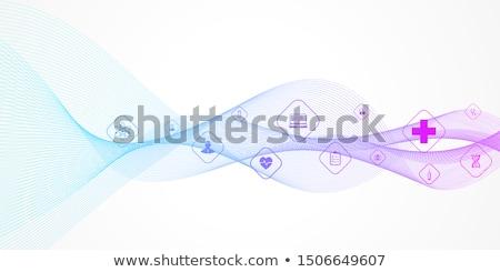 медицинской баннер вектора медицина иллюстрация Сток-фото © Leo_Edition