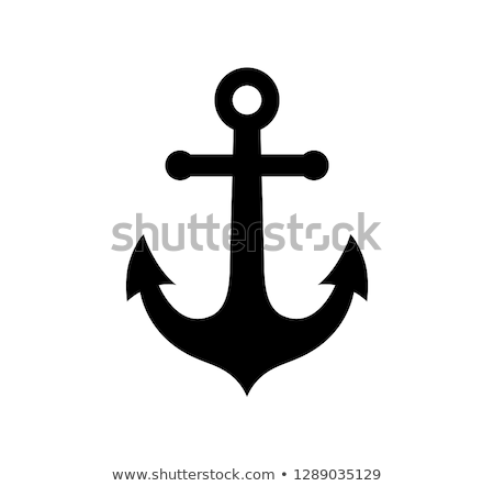 silhouette anchors stock photo © blackmoon979