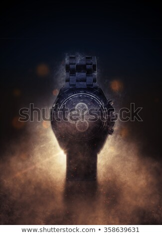 Deadline on Automatic Wrist Watch Mechanism. 3D. Stock photo © tashatuvango
