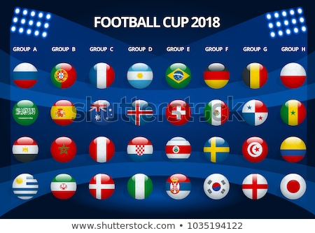 Football 2018, Europe Qualification, all Groups Stock photo © olehsvetiukha