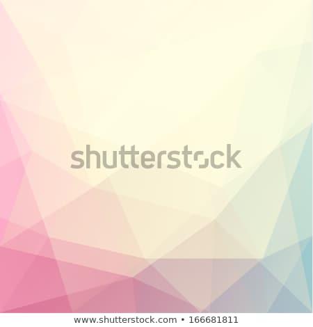 Colorato pastello triangolo pattern design sfondo Foto d'archivio © SArts