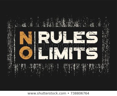 Rock poster tshirt ontwerp vector rockmuziek Stockfoto © Andrei_