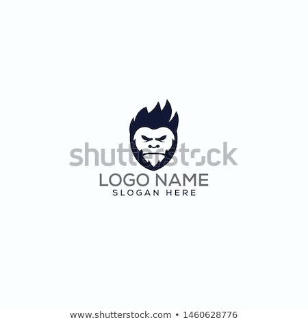 Yeti Head Mascot Stock photo © patrimonio