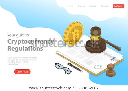yargıç · örnek · çalışmak · adalet · erkek · kariyer - stok fotoğraf © tarikvision