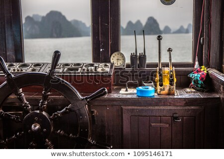 Captains cabin on ship Stock photo © jossdiim