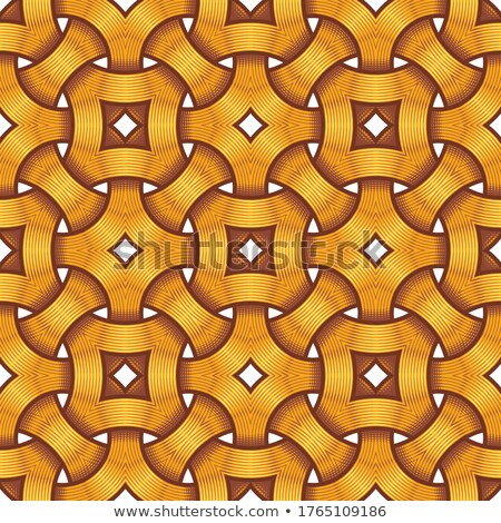 Celtic Seamless Pattern - Engraved Rings Intertwined Stock photo © nazlisart