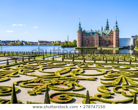 Dinamarca ver palácio lago paisagem Foto stock © borisb17
