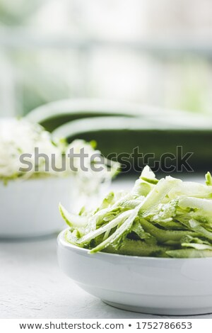 grated zucchini  Stock photo © tycoon