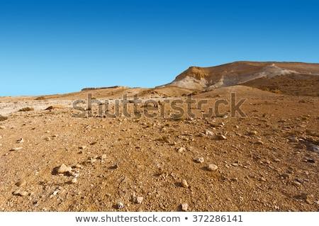 Suelo desierto geología textura piedra fondo Foto stock © dolgachov