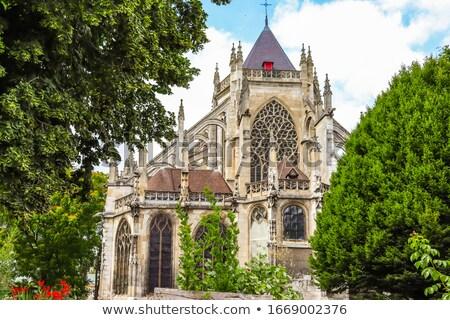 教会 フランス トランジション ゴシック ストックフォト © borisb17