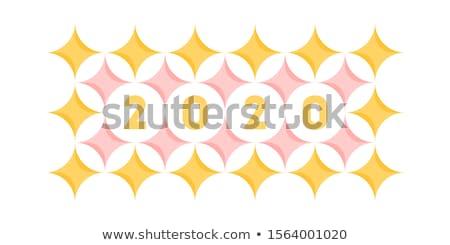 抽象的な デザイン エレガントな 番号 パステル パターン ストックフォト © ussr