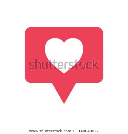 új megjegyzés közösségi háló ikon szövegbuborék forma Stock fotó © evgeny89
