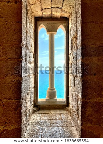 old Mediterranean architecture Stock photo © poco_bw