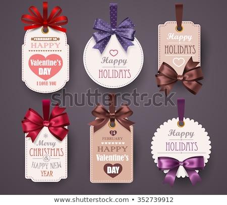 vente · autocollants · étiquettes · isolé · blanche · papier - photo stock © orson