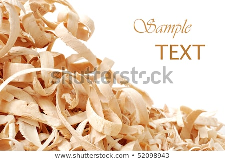 close up of a pile of wood chips, shallow dof Stock photo © stokkete