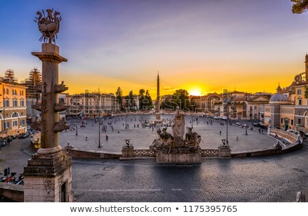 лев · фонтан · Рим · Италия · мнение - Сток-фото © vladacanon