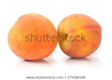Single a red-yellow peach stock photo © boroda