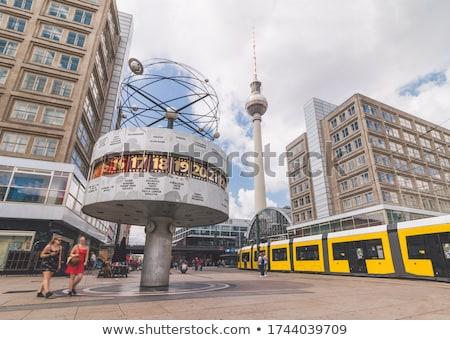 world clock in berlin stock photo © prill