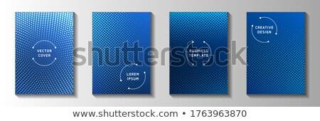 Retro banner set with gradation Stock photo © vipervxw