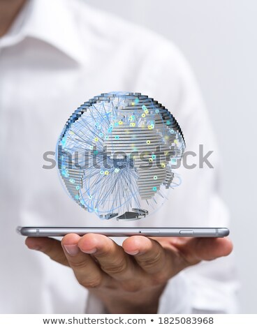 Сток-фото: Мир · Бизнес-сеть · веб · группа · красный · связи