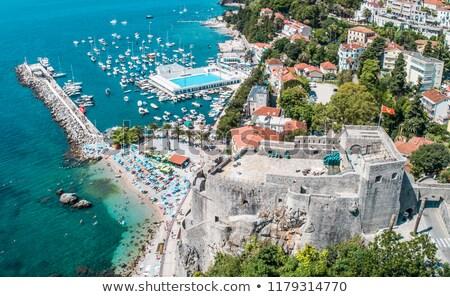 coastline herceg novi montenegro stock photo © vladacanon