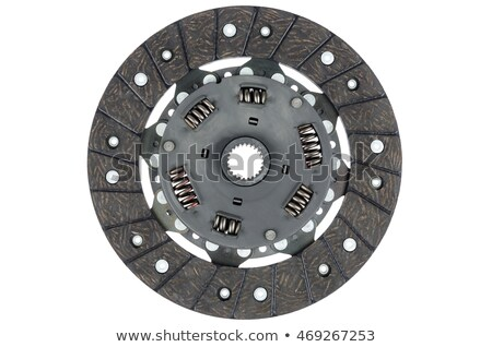 clutch disc isolated on white Stock photo © RuslanOmega