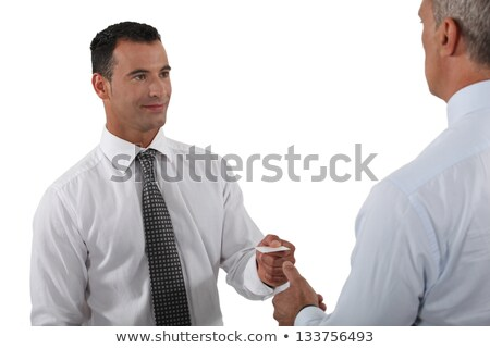 Peppy man at a business meeting Stock photo © photography33