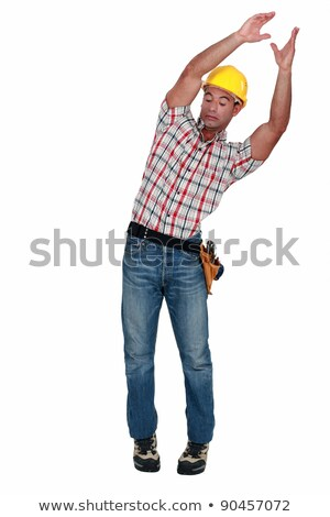 craftsman carrying something and trying to keep balance Stock photo © photography33