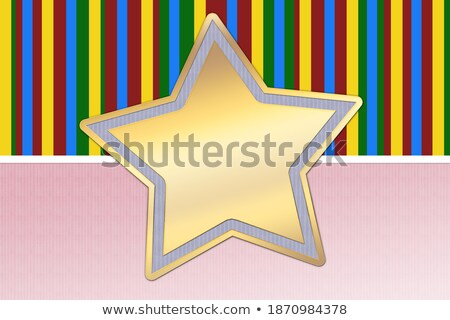 Gold Christmas star with interesting background Stock photo © shutswis