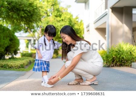 güzel · bir · kadın · ayakkabı · güzel · genç · kadın · kadın · kız - stok fotoğraf © piedmontphoto