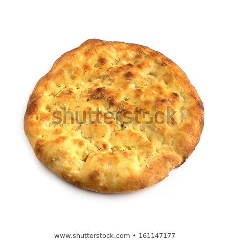 salty bread over white background stock photo © shutswis