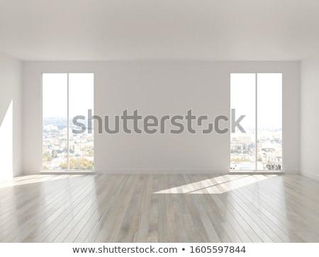の空室 · 白 · 窓 · 光 · ビッグ · 孤立した - ストックフォト © limbi007