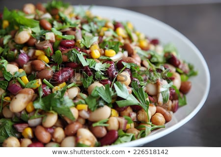 Bean salad Stock photo © trgowanlock