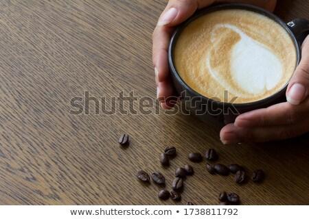 café · expresso · foto · loiro · feminino - foto stock © pressmaster