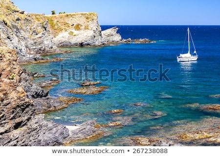 Cap de Peyrefite, Languedoc-Roussillon, France Stock photo © phbcz
