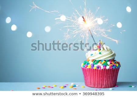 sparkler sweet stock photo © paha_l