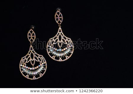 woman with big diamond stock photo © dolgachov