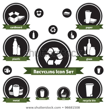 lixo · desperdiçar · separação · reciclagem - foto stock © lunamarina