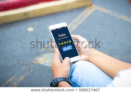 rate your experience stock photo © kbuntu