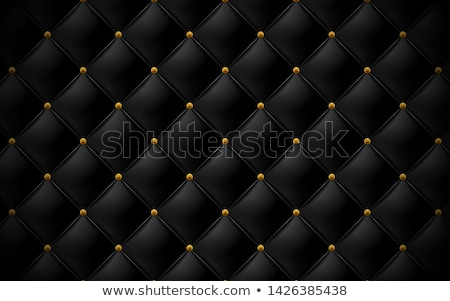 vector black leather upholstery background Stock photo © freesoulproduction
