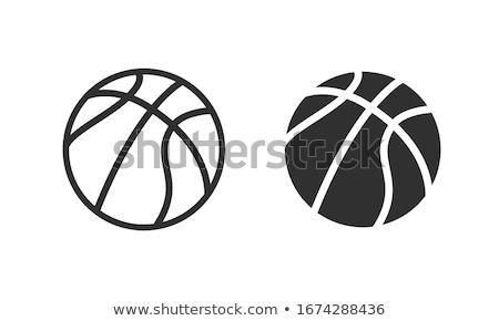 basquetebol · cesta · bola · combinar · ícone · vetor - foto stock © freesoulproduction