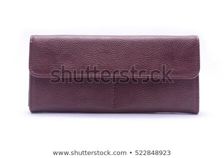 ladies leather wallet Stock photo © FOKA