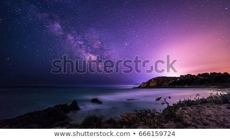 ocean · molo · streszczenie · rozmycie · tle - zdjęcia stock © karandaev
