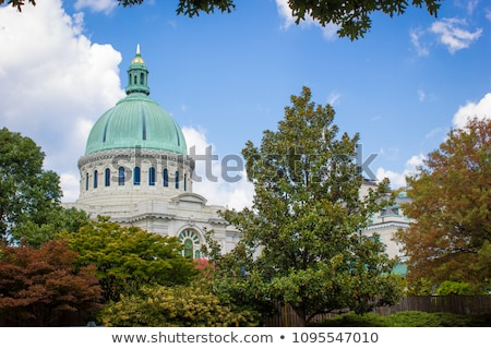 Akadémia kápolna Egyesült Államok város Maryland USA Stock fotó © sframe