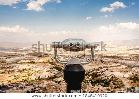 Stok fotoğraf: Dürbün · manzara · seyahat · kaya · panoramik · fotoğrafçılık