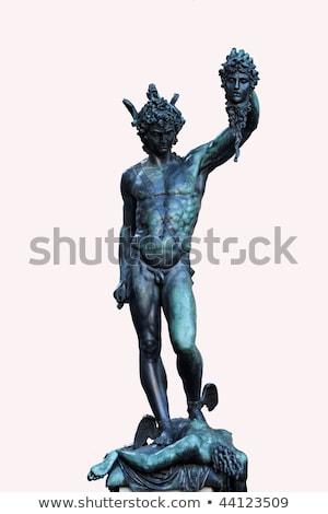 Perseus holding head of Medusa Stock photo © pixachi