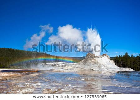 Boiling thermal springs at Yellowstone Stock photo © emattil