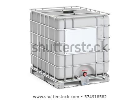 konténer · 3D · generált · kép · víz · ipar - stock fotó © flipfine