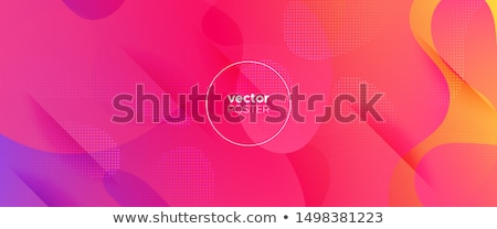 pink and yellow gradient curve background Stock photo © Kheat