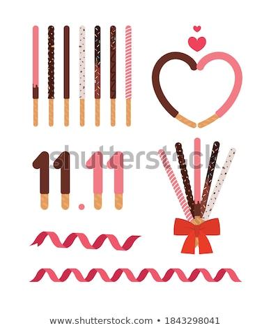 Banketbakkerij kleurrijk tekening gebak taarten cookies Stockfoto © Aiel